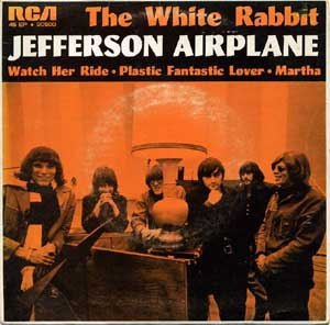 jefferson airplane white rabbit essay Details about jefferson airplane white vinyl 45 promo white rabbit stereo/mono versions.